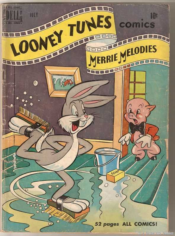 Looney Tunes and Merrie Melodies Comics #105 GD