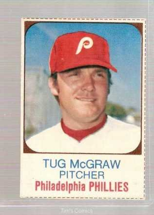 1975 Hostess Baseball Card #149 Tug McGraw Phillies