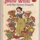 Snow White and the Seven Dwarfs Disney's Wonderful World of Reading Hardcover Fifth Printing