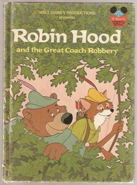 Walt Disney's Robin Hood and The Great Coach Robbery Disney's Wonderful World of Reading Hardcover