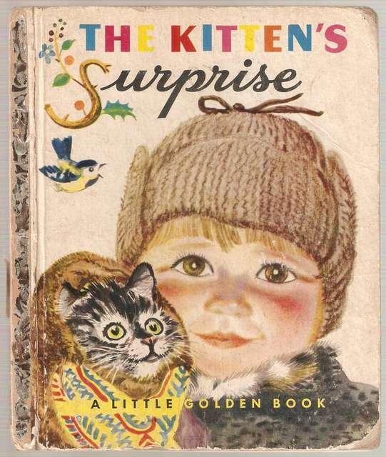 The Kitten's Surprise Little Golden Books Book A