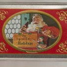 Coca-Cola Santa Claus Nostalgia Playing Cards with Tin