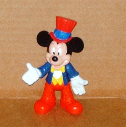McDonalds Mickey & Friends Epcot Center Adventure Mouse USA Figure Happy Meal Toy Disney World Loose