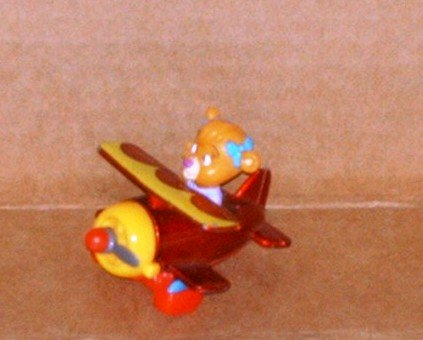 McDonald's 1990 Disney's TaleSpin Molly's Biplane Happy Meal Toy Loose Used
