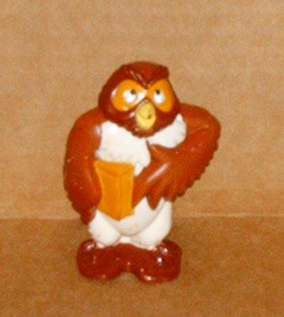 Disney Winnie the Pooh Owl PVC Figure Fisher Price