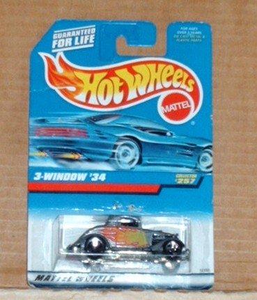 Hot Wheels 1998 #257 3-Window '34
