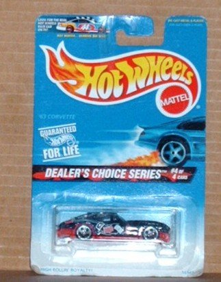 Hot Wheels #568 �63 Corvette Dealer�s Choice Series