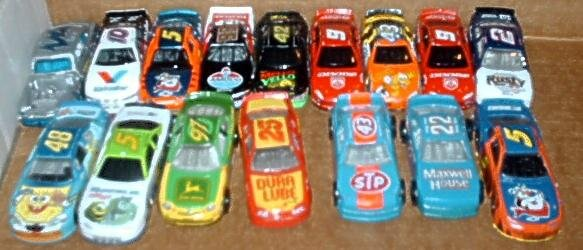Lot of 16 Racing Champions & Other Nascar Diecast Cars