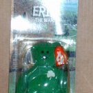 McDonalds Teenie Beanie Babies Erin the Bear in Package Happy Meal A