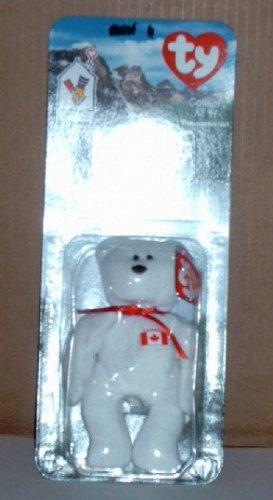 McDonalds Teenie Beanie Babies Maple the Bear in Package Happy Meal A
