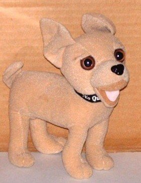 """Taco Bell 6"""" Chihuahua Dog Toy Applause Plush Stuffed"""