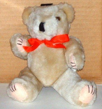 """Beige 8"""" Teddy Bear with Movable Arms and Legs"""
