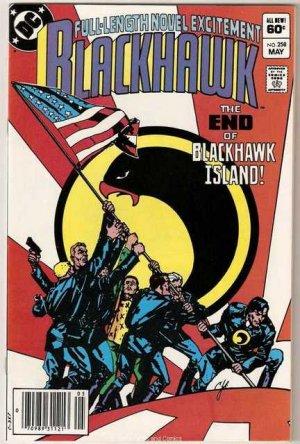Blackhawk #258 DC Comics 1983 Very Good