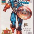 Captain America (1996) #1 White Cover Marvel Comics Nov. 1996 VF