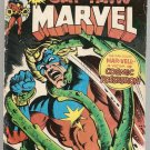 Captain Marvel (1968 series) #40 Marvel Comics Sept 1975 Fair B