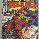 Captain Marvel (1968 series) #43 Marvel Comics Mar 1976 VG
