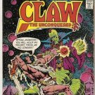 Claw the Unconquered (1975 series) #8 DC Comics Aug 1976 FR