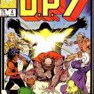 D.P.7 #4 Marvel Comics Feb. 1987 FN/VF