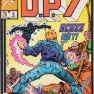 D.P.7 #5 Marvel Comics March 1987 GD