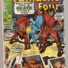 Fantastic Four #101 Marvel Comics Aug 1970 Poor