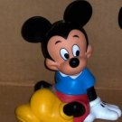 Vintage Mickey Mouse Bank Walt Disney Productions Loosed Used