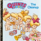 Quints The Cleanup by Leslie MCGuire Little Golden Books 1990