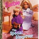 Barbie The Special Sleepover Little Golden Books 1999