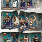 1994-95 Topps Finest Basketball Lot of 35 Cards