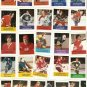 1974-75 NHL Hockey Action Stamps Lot of 27 Bobby Clarke Ken Dryden
