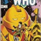 Doctor Who (1984 series) #7 Marvel Comics April 1985 VG