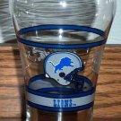 Vintage Coca-Cola Detroit Lions Glass Football NFL
