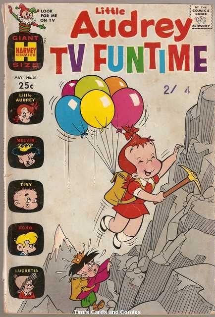 Little Audrey TV Funtime #31 Harvey Comics March 1970 Fair