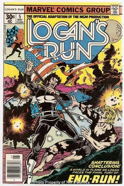 Logan's Run (1977 series) #5 Marvel Comics May 1977 GD