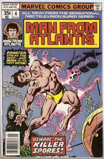Man From Atlantis (1978 series) #4 Marvel Comics May 1978 VG