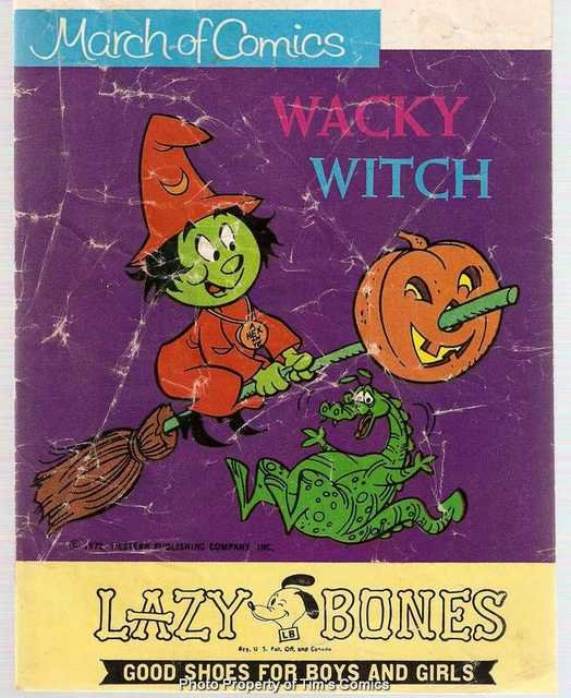 March of Comics #374 Wacky Witch Western Publishing