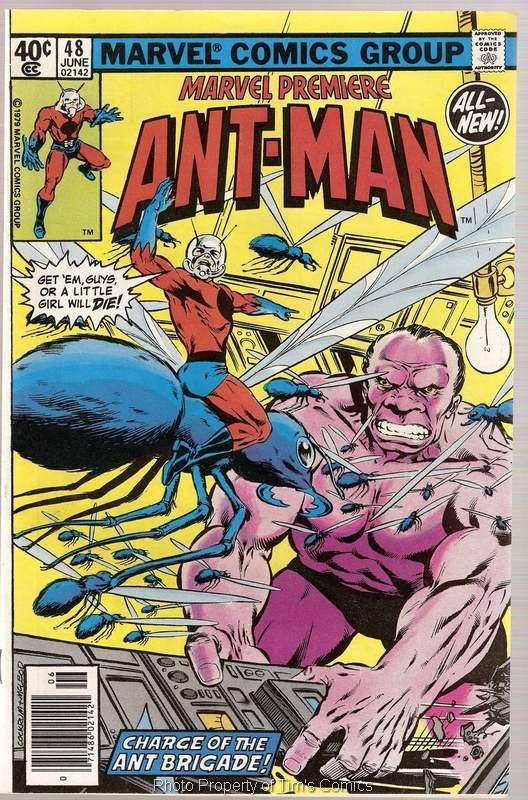 Marvel Premiere (1972 series) #48 Ant Man Marvel Comics June 1979 GD