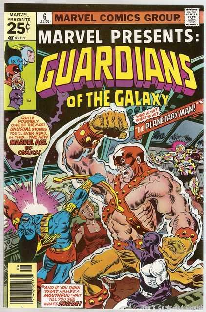 Marvel Presents (1975 series) #6 Guardians of the Galaxy Marvel Comics Aug. 1976 VG
