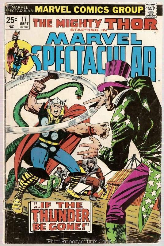 Marvel Spectacular (1973 series) #17 Thor Marvel Comics Sept.1977 FR