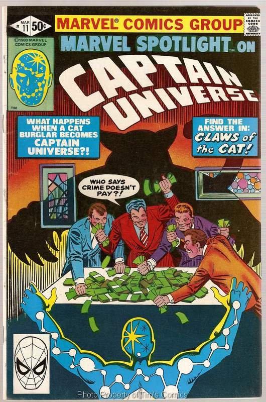 Marvel Spotlight (1979 series) #11 Captain Universe Marvel Comics March 1981 VG/FN
