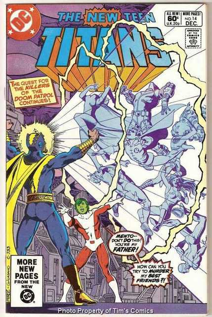New Teen Titans (1980 series) #14 DC Comics Dec. 1981 Fine
