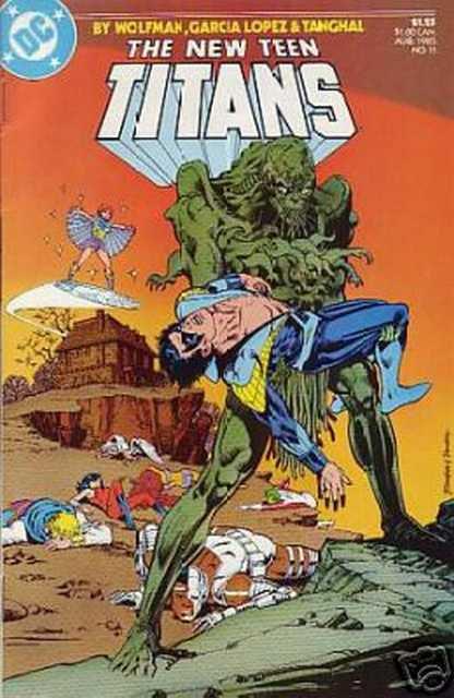 New Teen Titans (1984 series) #11 DC Comics Aug 1985 FN