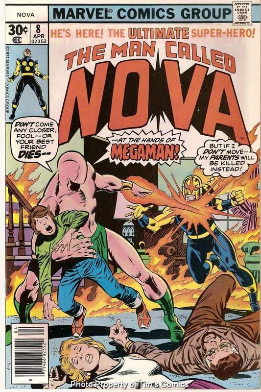 Nova (1976 series) #8 Marvel Comics April 1977 FN