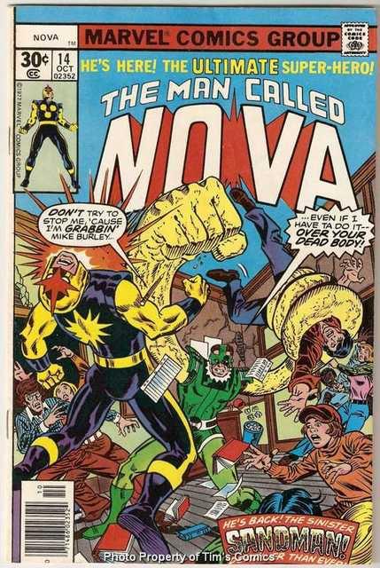 Nova (1976 series) #14 Marvel Comics Oct 1977 VG