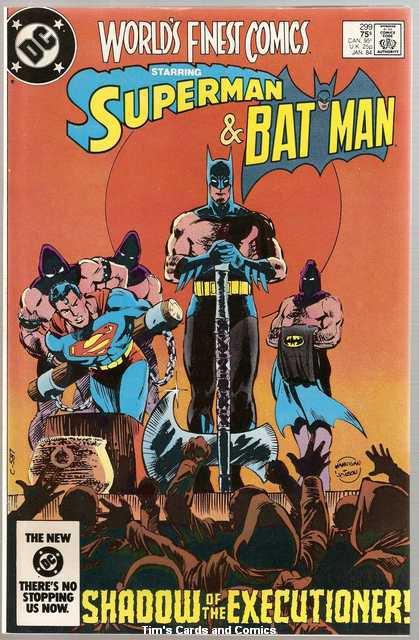 World's Finest #299 Superman Batman DC Comics Jan. 1984 FN