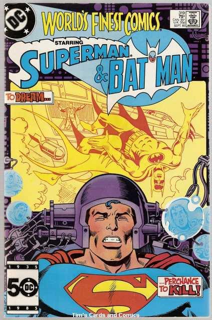 World's Finest #319 Superman Batman DC Comics Sept. 1985 VG