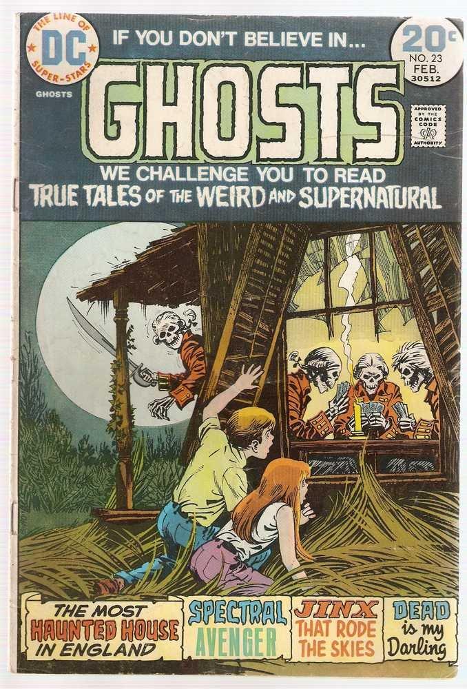 Ghosts #23 DC Comics Feb. 1974 GD/VG