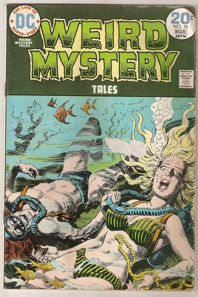 Weird Mystery Tales #10 DC Comics March 1974 GD
