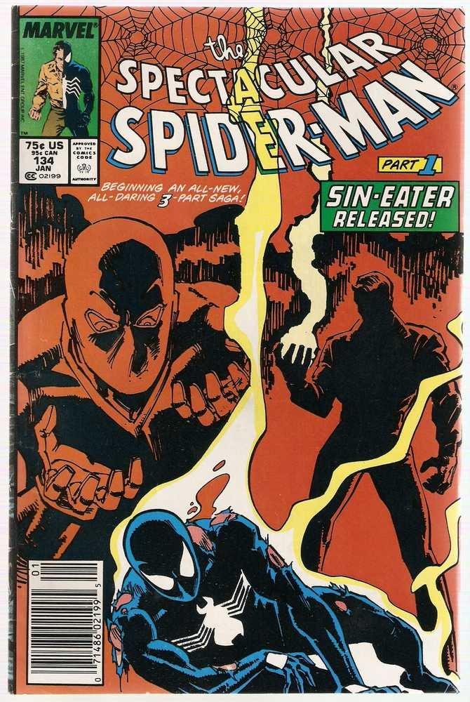 Spectacular Spider-Man (1976 series) #134 Marvel Comics VG