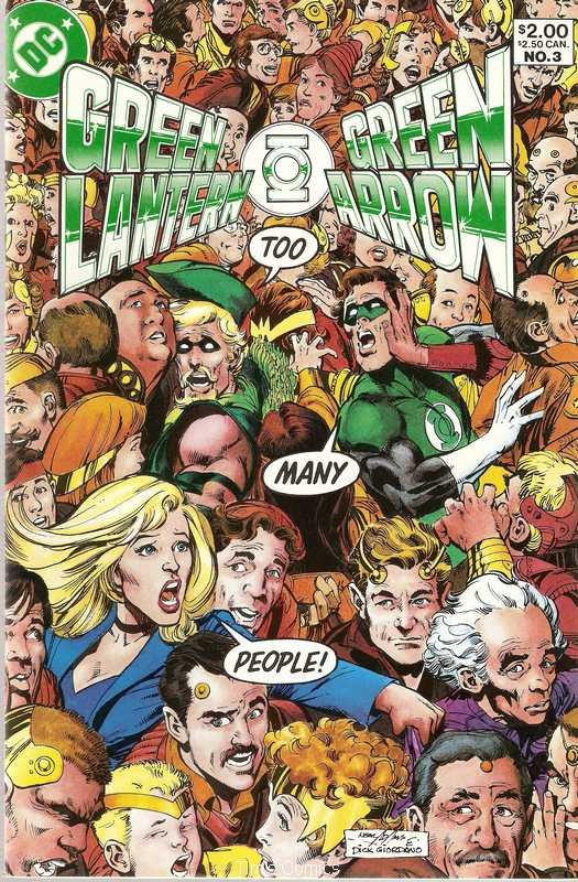 Green Lantern Green Arrow (1983 series) #3 DC Comics Dec. 1983 FN/VF