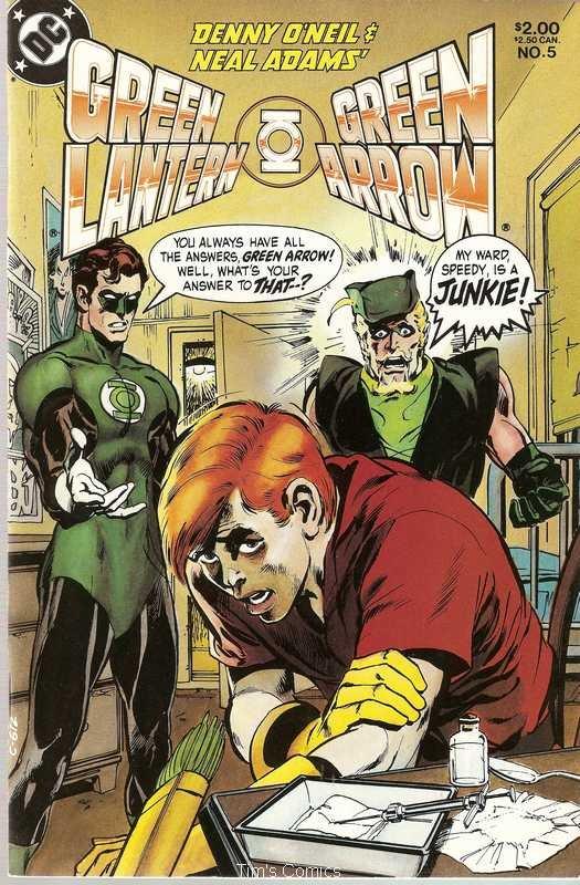 Green Lantern Green Arrow (1983 series) #5 DC Comics Feb. 1984 FN/VF